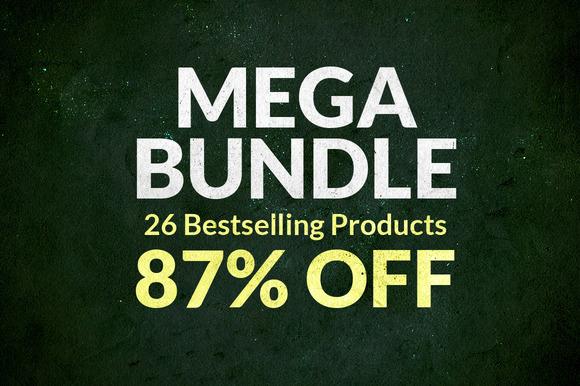 MEGA BUNDLE 87% OFF