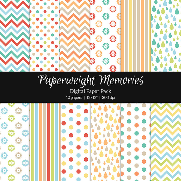 Patterned Paper Childhood Dreams
