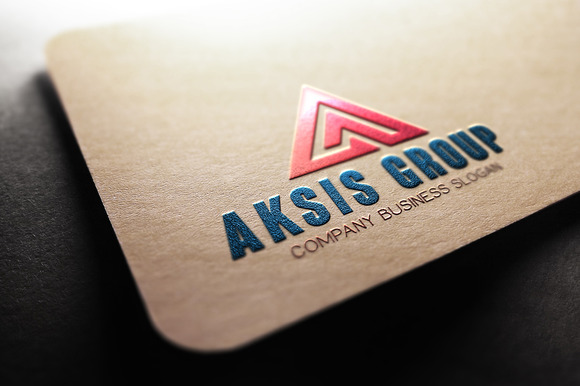 Aksis Group A Letter Logo