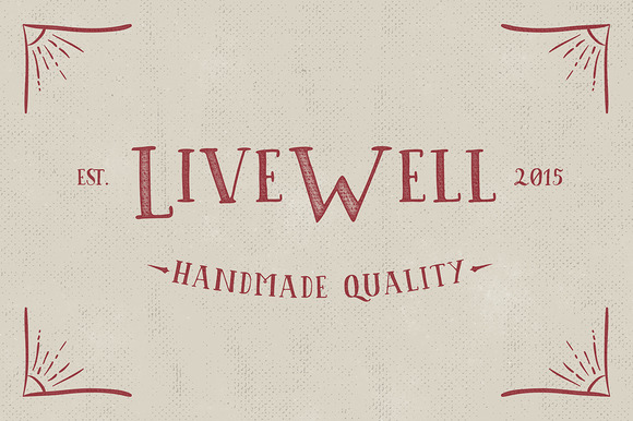 Livewell Typeface