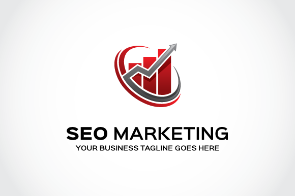 Seo Marketing Logo Template