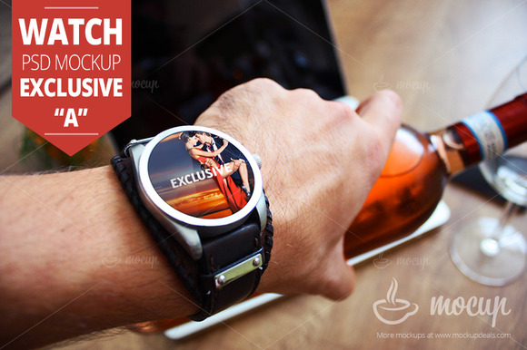 Watch PSD Mockup Exclusive A