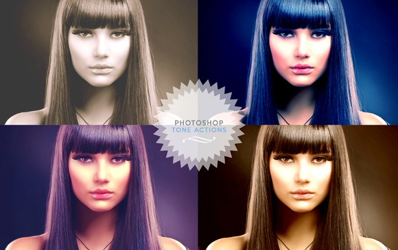 Photoshop Tone Effect Actions