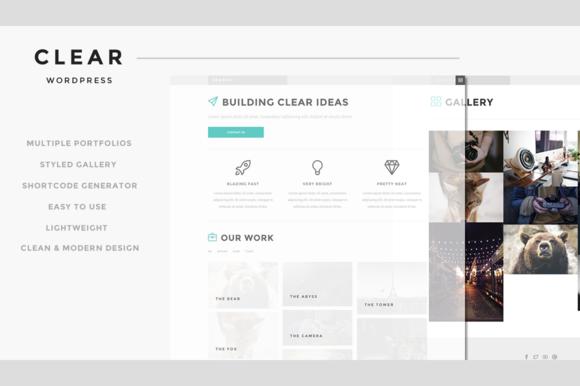 Clear Responsive WordPress Theme