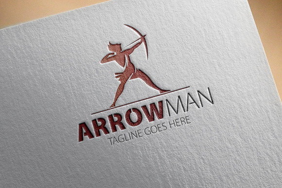 Arrow Man Logo