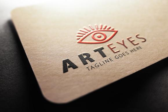 Art Eyes Logo