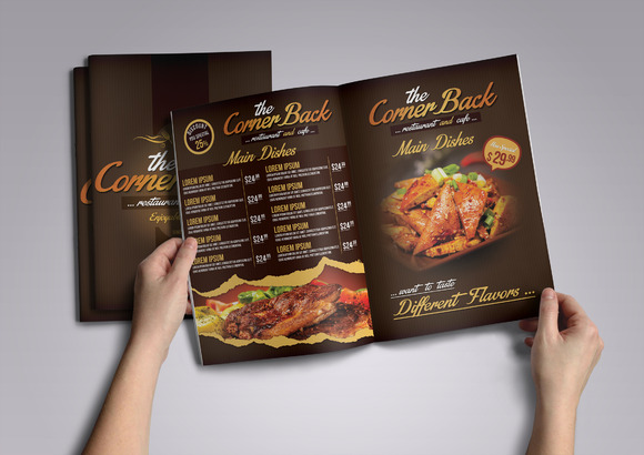 Restaurant Cafe Menu Pack 03