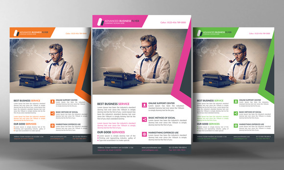 Advanced Corporate Business Flyer