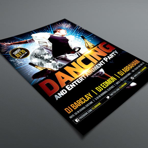 Dancing Party Flyer 01