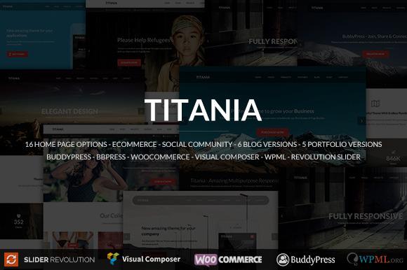 Titania Business WordPress Theme