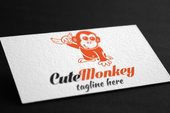 Cute Monkey Logo