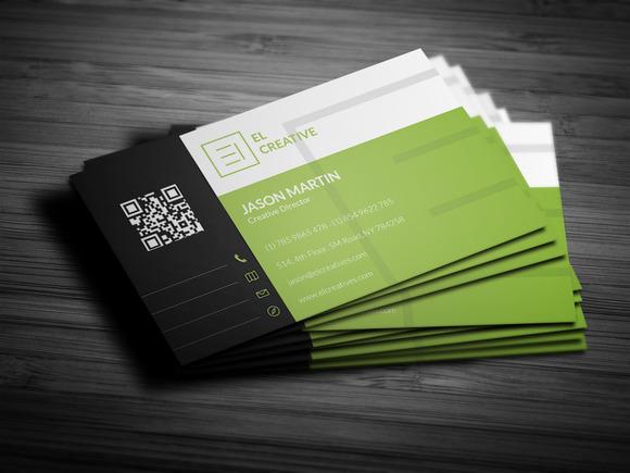 Creative Flat Business Card