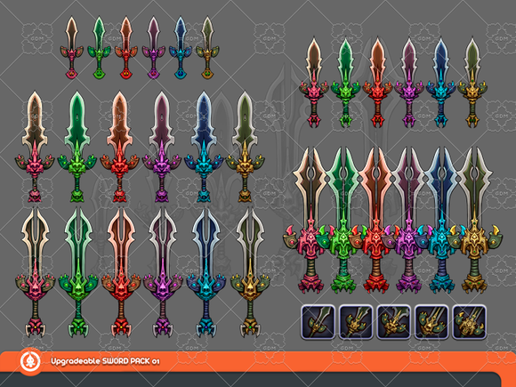 Upgradeable Sword Pack 01