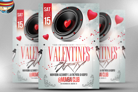 Valentine S Speaker Night Flyer