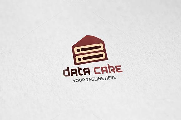Data Cake Logo Tempalte