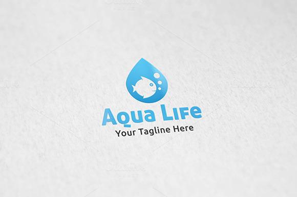 Aquarium Logo Template