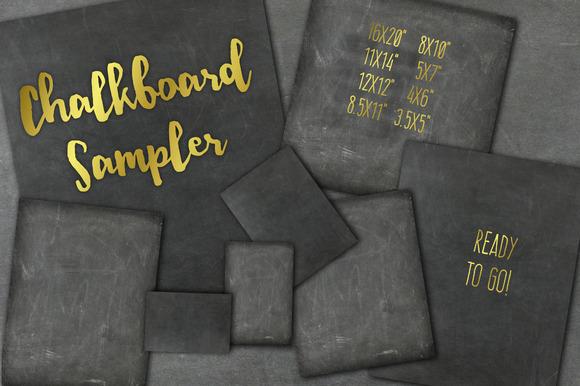 Chalkboard Sampler