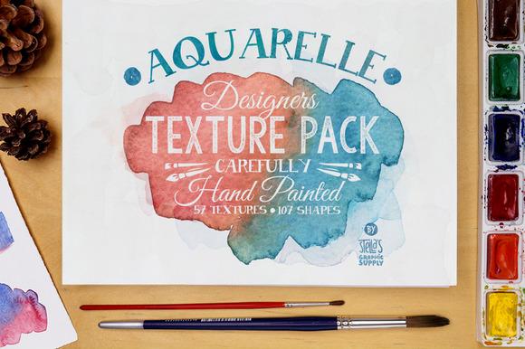Aquarelle Designers Texture Pack