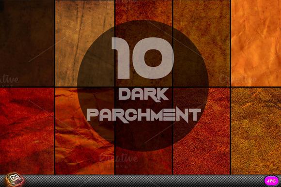 Dark Parchment Textures