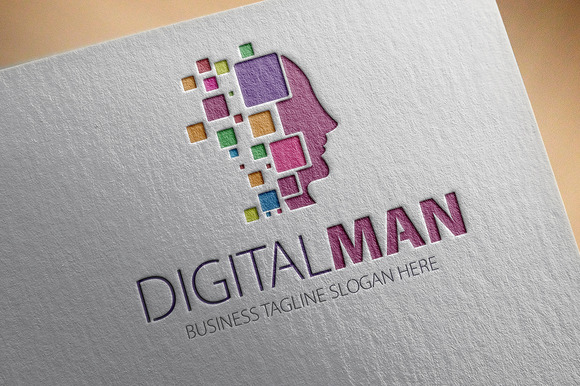 Digital Man Logo