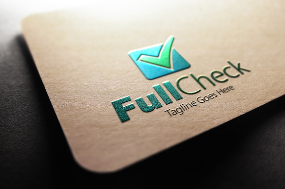 Full Check Mail Logo