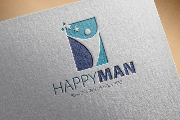 Happy Man Logo