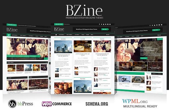Bzine WordPress HD Magazine