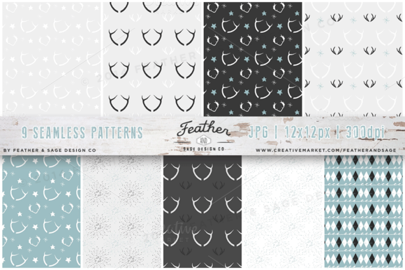 Woodlands Pattern Set V.1