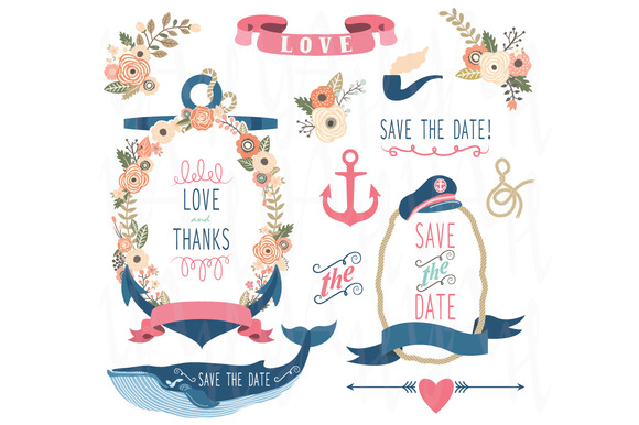 Nautical Wedding Elements