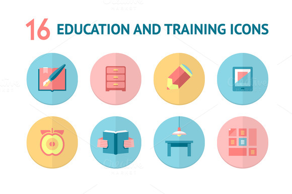Education And Learning Icons