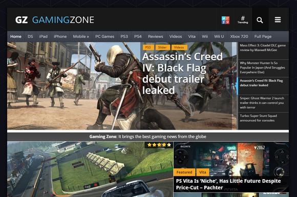 GamingZone Gaming News Magazine