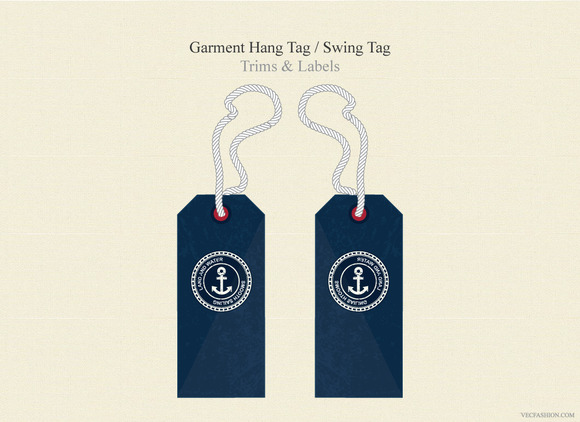 Garment Hang Tag Swing Tag