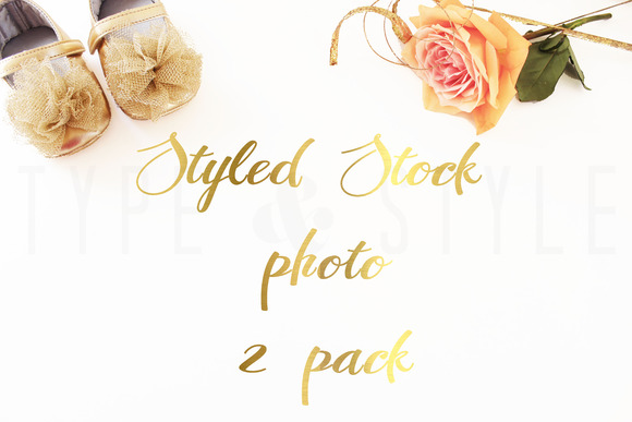 2 Pack Styled Stock Photo