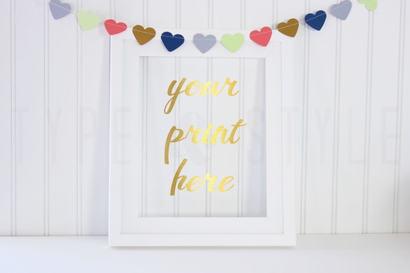 2 Pack Styled Stock Photo Hearts