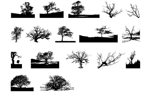 Trees Vector Pack