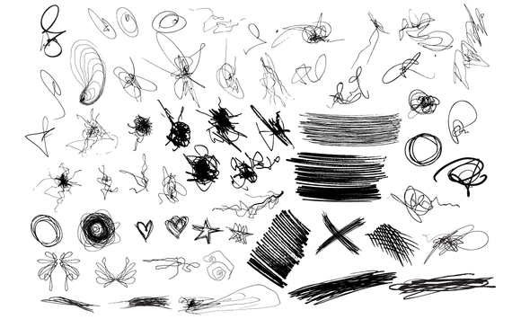 Scribbles Vector Pack