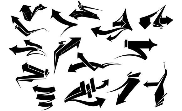 Arrows 2 Vector Set