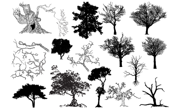 Tree Vector Pack 2