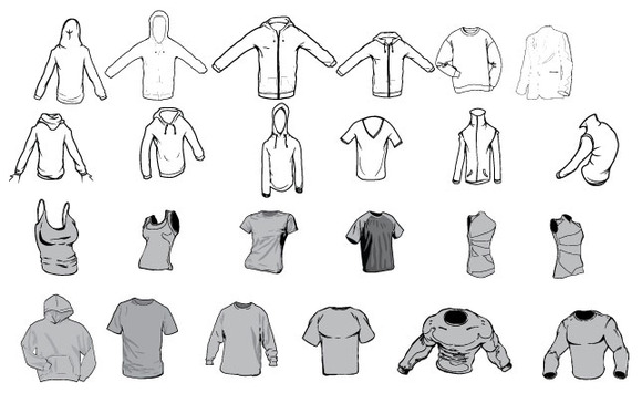 Apparel Vector Pack