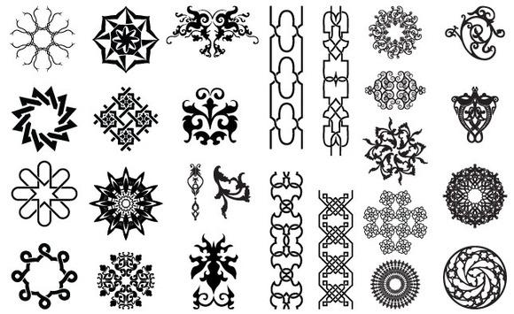 Arabesque Ornate Vector Pack