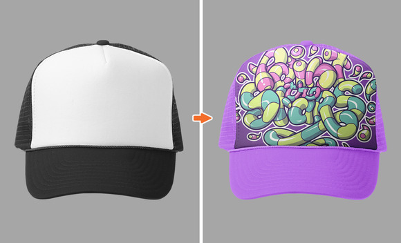 Hat Mockup Template Pack