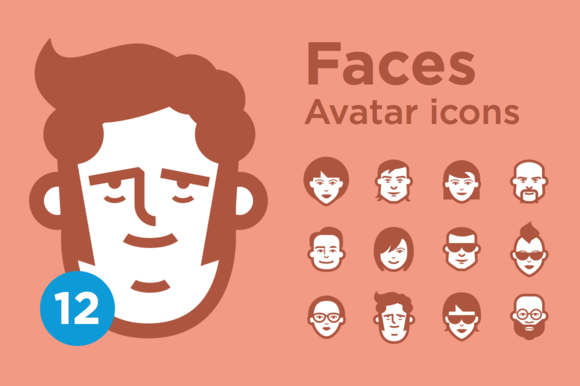 JimiЎЇs Avatar Icons Mix Set