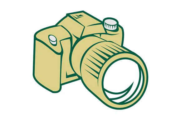 Camera DSLR Retro