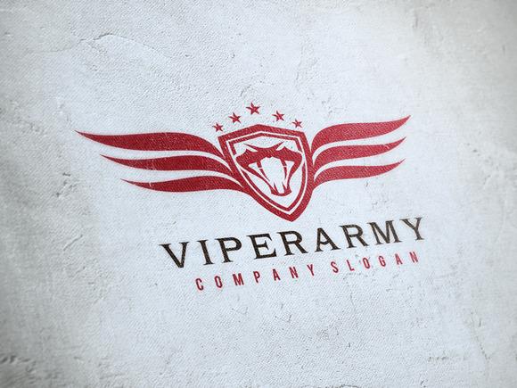 Viper Army Logo
