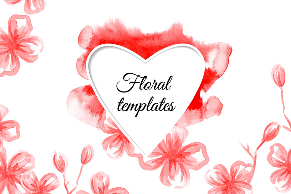 Floral Templates