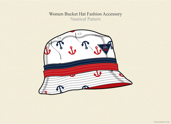 Women Bucket Hat Fashion Accessory