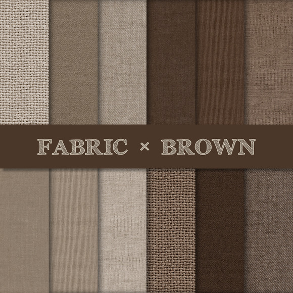 Fabric Texture Backgrounds Brown