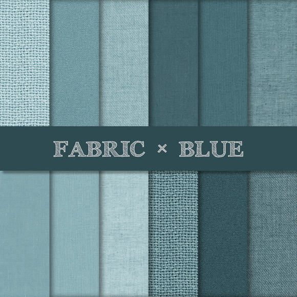 Fabric Texture Backgrounds Blue