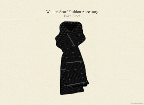 Winter Woolen Scarf Fashion Accessor