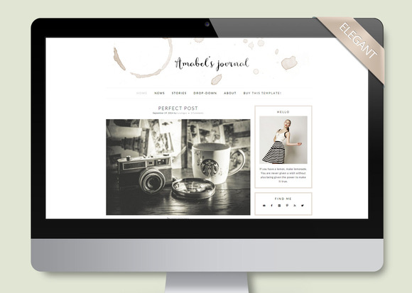 Amabel Wordpress Theme Blog